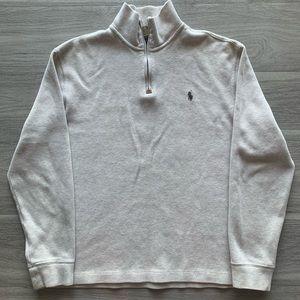 Polo Ralph Lauren Quarter Zip Men's Sweater Size M